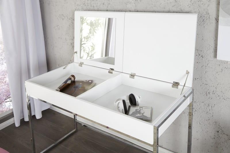 Schminktisch Modern : Interior :: Biurko, konsola, toaletka White ...