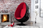 INTERIOR :: Fotel Egg Shell Red/Black (Z1135)
