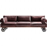 HOME Design :: Sofa Railway Rodeo 232 cm skóra (78178)