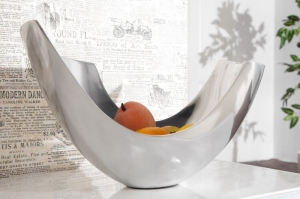 Interior :: Misa Abstract Silver aluminium 35cm (Z8511)