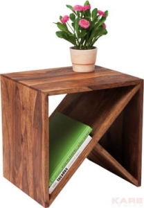 HOME Design :: Stolik / nakastlik  cube Authentico ZigZag (77787)