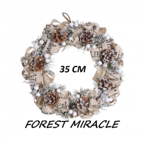HOME Design :: Wianek bożonarodzeniowy Forest Miracle 35cm (C_38CAN18051A)
