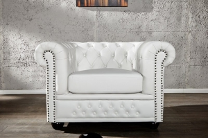Interior :: Fotel Ergo White Chesterfield (Z11223)