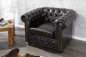 Interior :: Fotel Ergo Dark Coffee Chesterfield (Z9684)