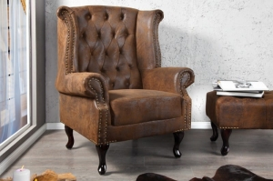 Interior :: Fotel Antique Look Chesterfield (Z19448)