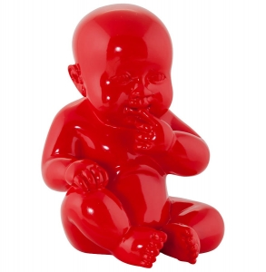 HOME Design :: Figurka, posążek, statuetka, rzeźba Sweety Child Red 17x11x11 cm (DK00910RE)