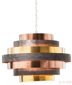 Kare Design :: Lampa Belt Round Coffee (33954)