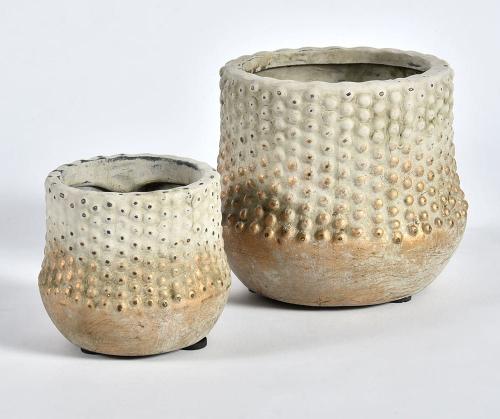 Belldeco Doniczka Donica Osłonka Gold Line Ceramika 11x12x12 Cm Bdc35021h506a