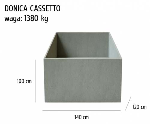 Donica betonowa Cassetto, szary, antracyt, 140x120x100 cm, www.h-design.png