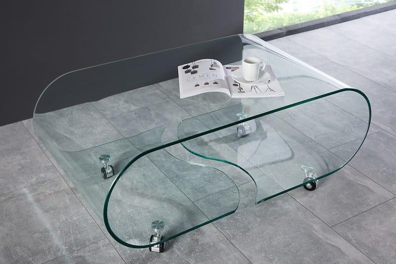 Cudowna Interior :: Stolik kawowy Ghost szkło bezpieczne 90cm (Z37256 XJ31